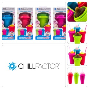 WIN YOU OWN CHILL FACTOR SLUSHY MAKER COLOUR BLAST AND STAY COOL THIS SUMMER CHILL FACTOR™.  Freeze It!  Squeeze It! Enjoy! CHILL FACTOR™ Slushy Maker makes instant slushies out of any chilled drinks you have at home – juices, soft drinks, flavoured milk, or mix it up to make your own concoctions.   Just add your favourite chilled drink to the frozen CHILL FACTOR™ Slushy Maker cup and squeeze, squeeze, squeeze! In less than a minute, you can make a delicious frozen slushy treat. It's that easy. RRP$14.95  Available online at www.thechillfactor.com.au or from BIG W To WIN one of 8 Slushy Maker's simply answer this easy question in less than 25 words : What will you be sipping from your Chill Factor Slushy Maker this summer ? We will choose our favourite 8 answers an announce a winner on Thursday the 29th of November at 12pm ( QLD Time) Winners will be posted here and also on the Mrs Tink Facebook page. Good Luck x