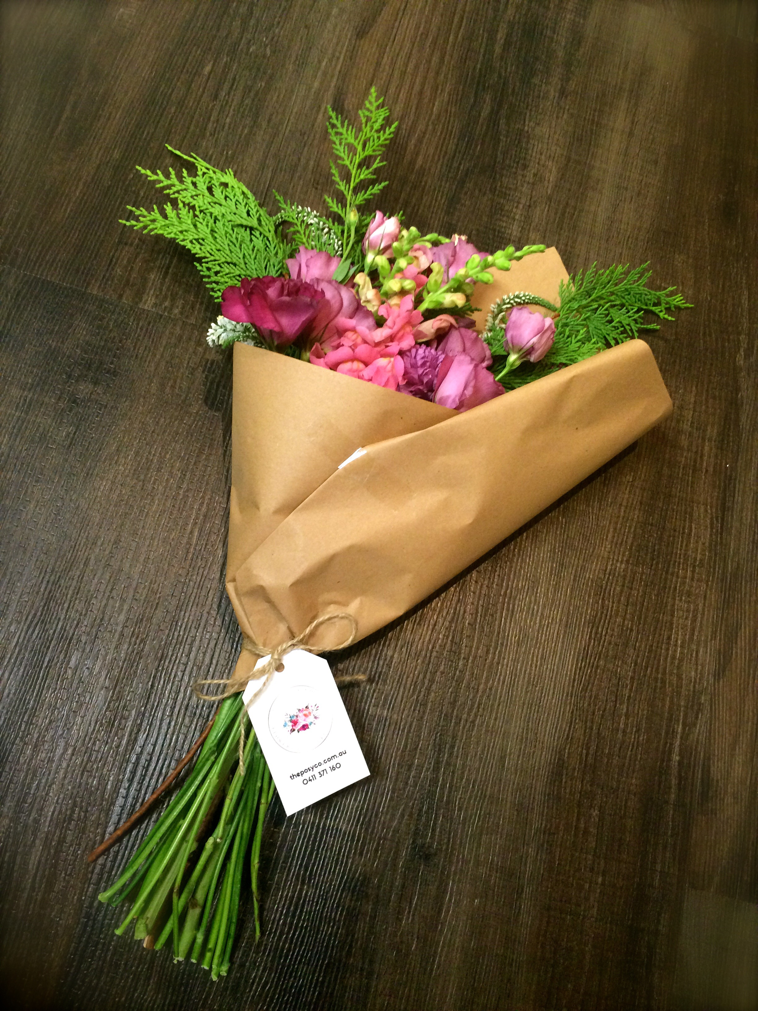Day one of mrs tinks 7 days of love giveaway the posy co beautiful bouquet delivered on the sunshine coast even on valentines day gorgeous fresh and locally grown flowers delivered to your doorstep or izmirmasajfo