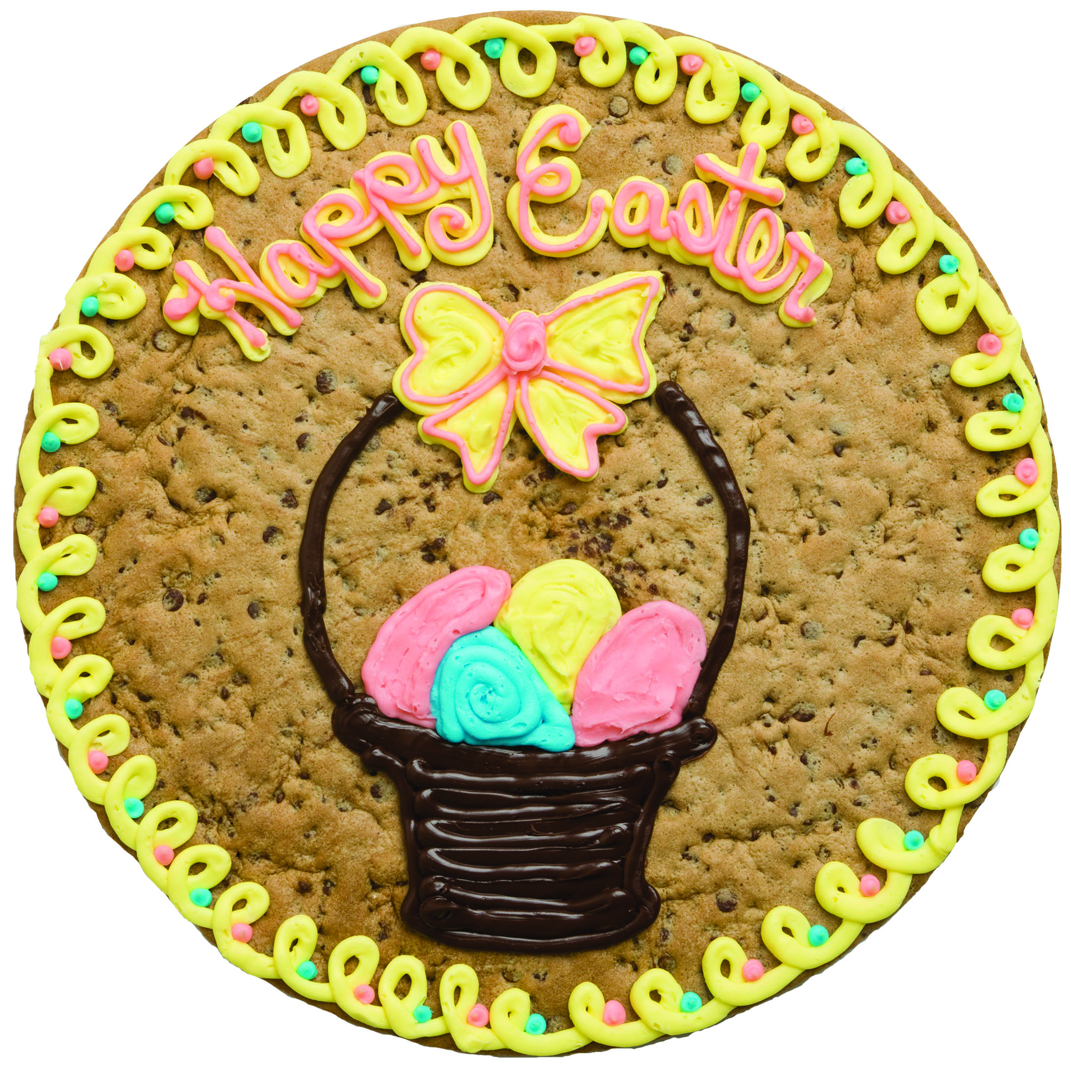 Easter Basket Cookie Cake